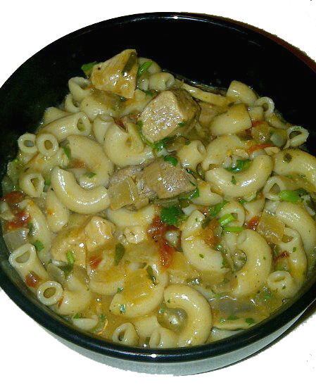 ... pasta which led to the birth of creamy chipotle pork mushroom pasta