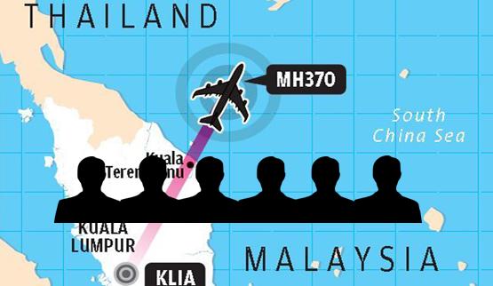 MH370: Akhbar Oriental Daily Senaraikan 6 Suspek Yang Perlu Diberi Perhatian