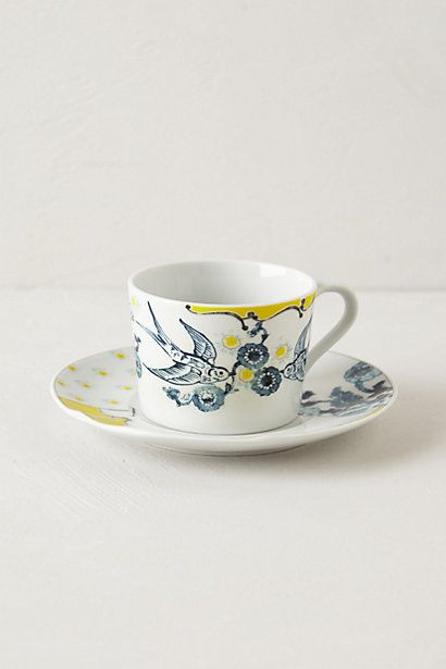 Anthropologie tea cups