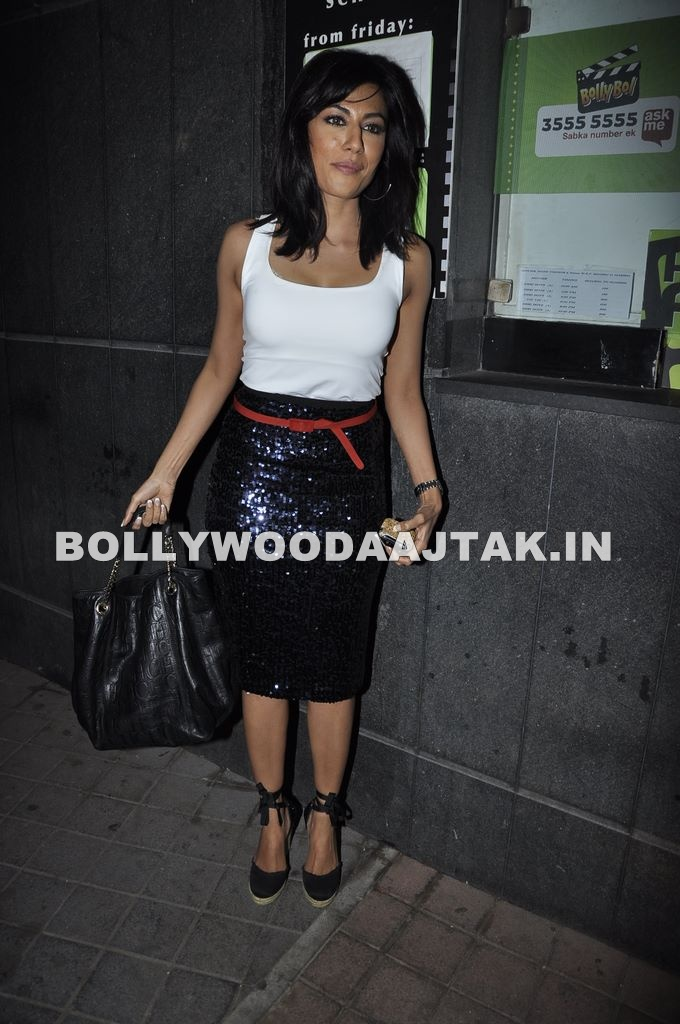 1 - Chitrangda Singh at Desi Boyz Screening