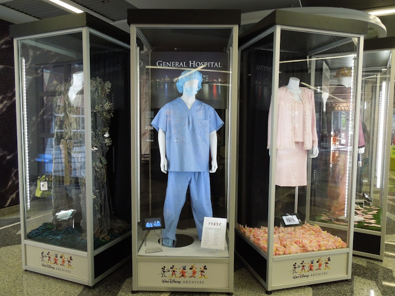 Disney Archives costume display