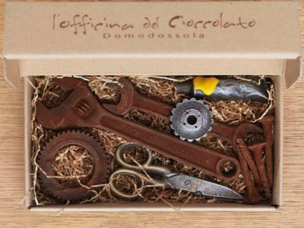 Шоколадные инструменты своими руками 55