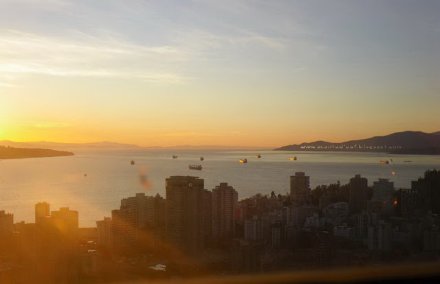 Vancouver 's view from Empire Landmark Tower