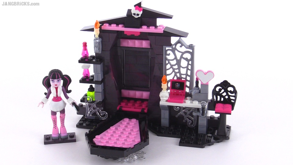 Mega Bloks Monster High Vamptastic Room Set Review