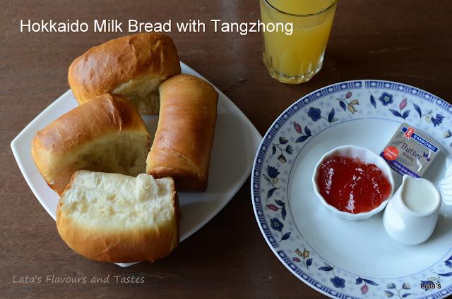 we knead to bake - march hokkaido milk bread with tangzhong