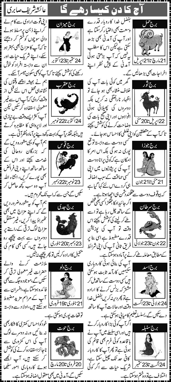 App kay Stars - Urdu Horoscopes 05/04/2012