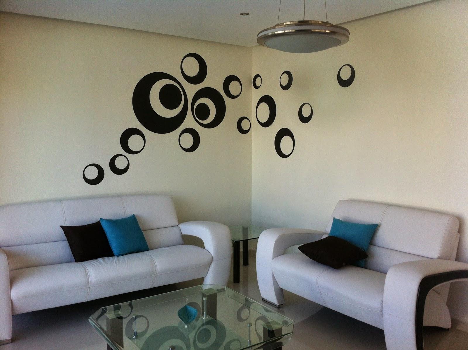 Vinilos decorativos y m s for Adornos decorativos para sala