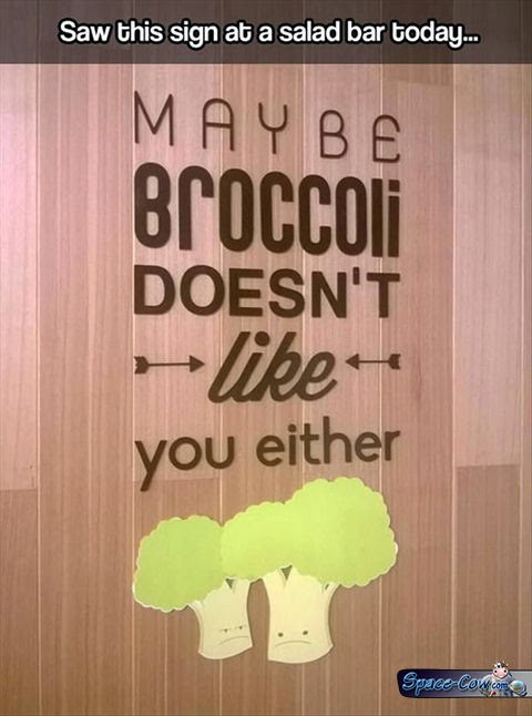 funny signs broccoli picture