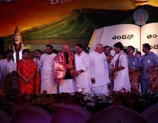 Telugu Mahasabhalu Programme Photos