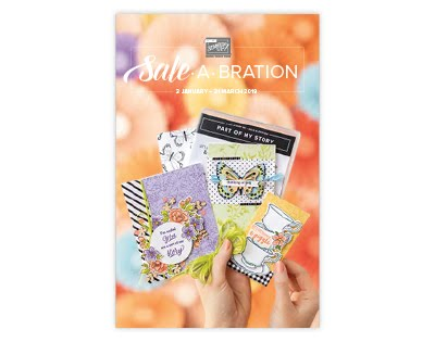 Stampin' Up! 2019 Sale-A-Bration Brochure