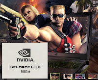 Detail GPU NVIDIA GeForce GTX 580M