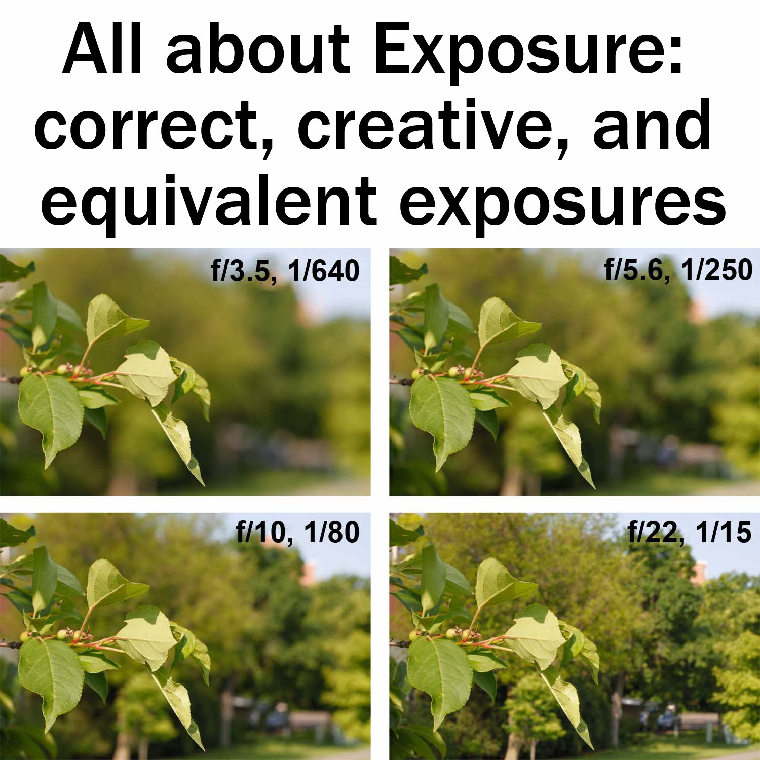 All about Exposure: correct, creative, and equivalent exposures | Boost Your Photography