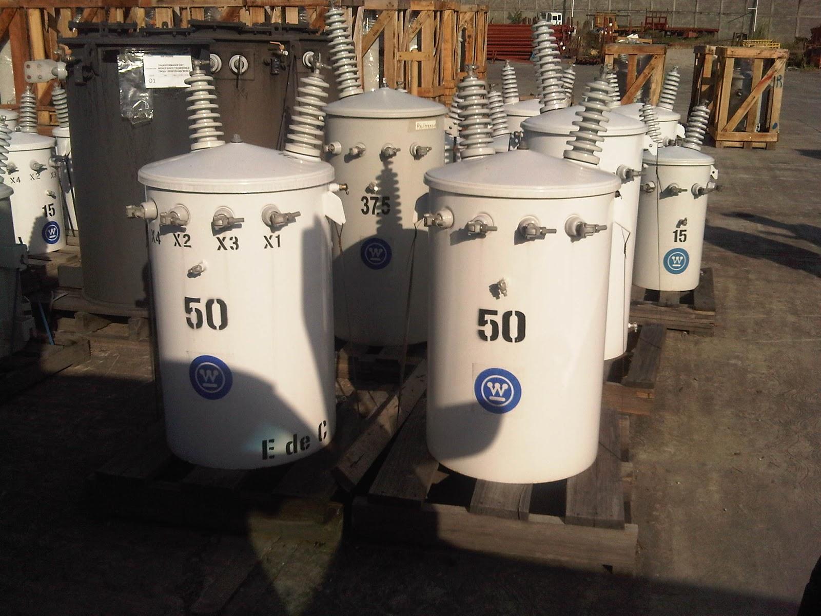 Corpoelec compra a Uruguay 60 transformadores