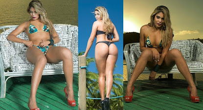 'Musa do Náutico' Claris Massena arrasa em fotos picantes e deixa alvirrubros com o grito na gargan