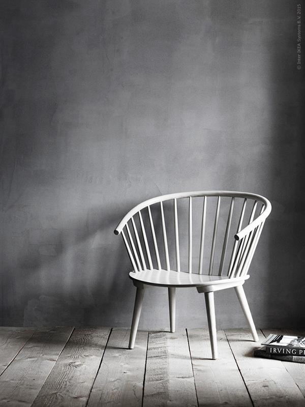Eker windsor chair by gillis ljunggren for Chaise urban ikea