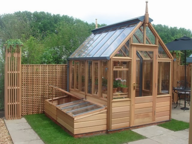 Garden potting sheds Green house sheds