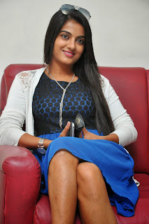 Actress Shruti Raj Latest Pictures at AK Rao PK Rao Movie Press Meet8)