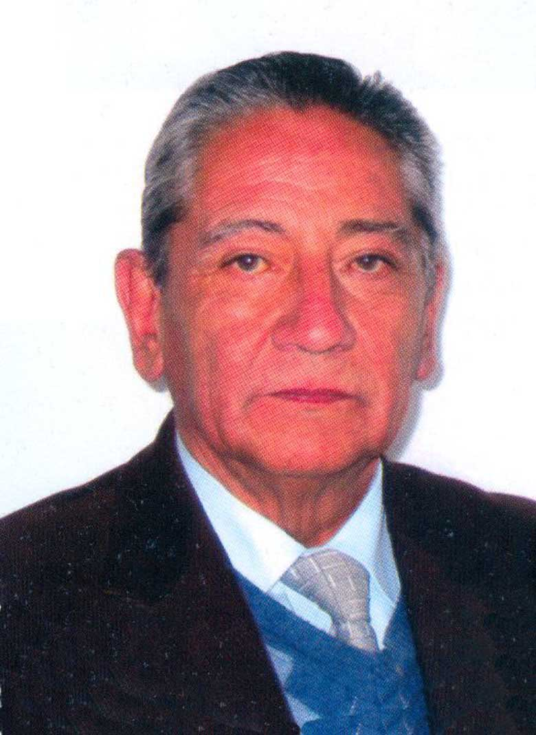 Rector Juan Francisco Muñoz Barrera