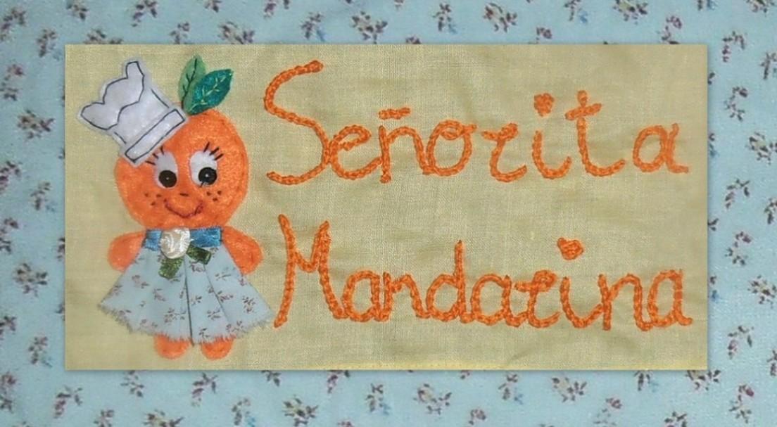 señorita mandarina