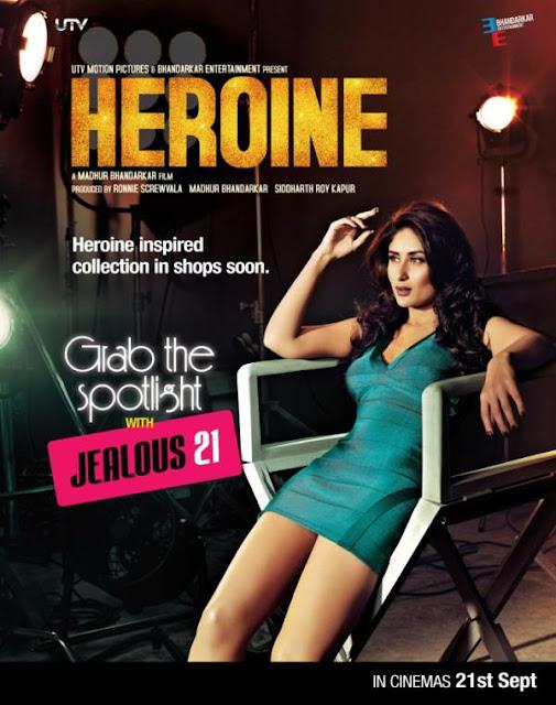 Heroine New Poster feat. Kareena Kapoor