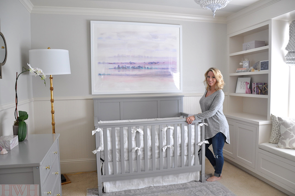 Baby Girl's Lavender Nursery | Honey We're Home