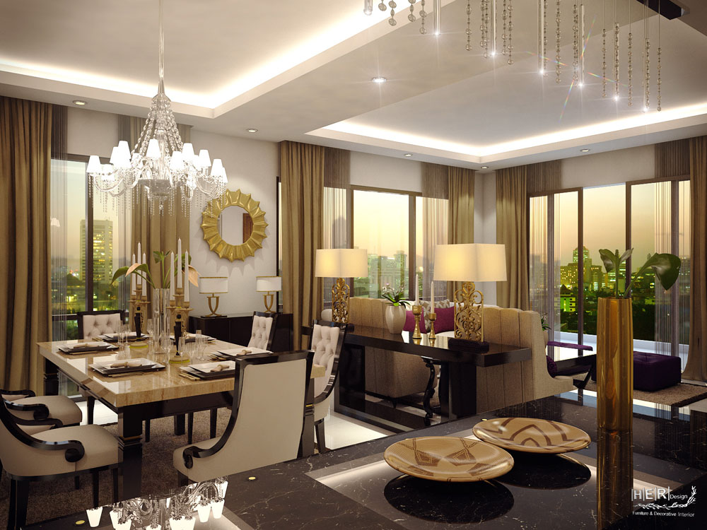 Luxury apartment sudirman residence for Apartment design jakarta