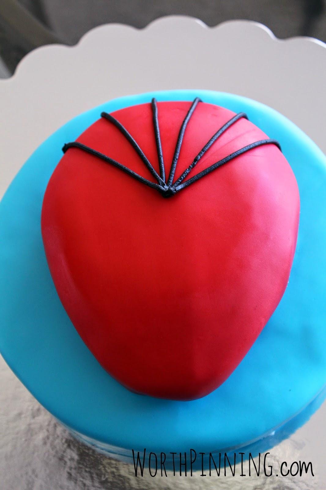 Amazing Spiderman Cake