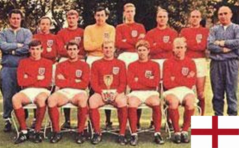 Finale de la coupe du Monde de Football 1966 Angleterre