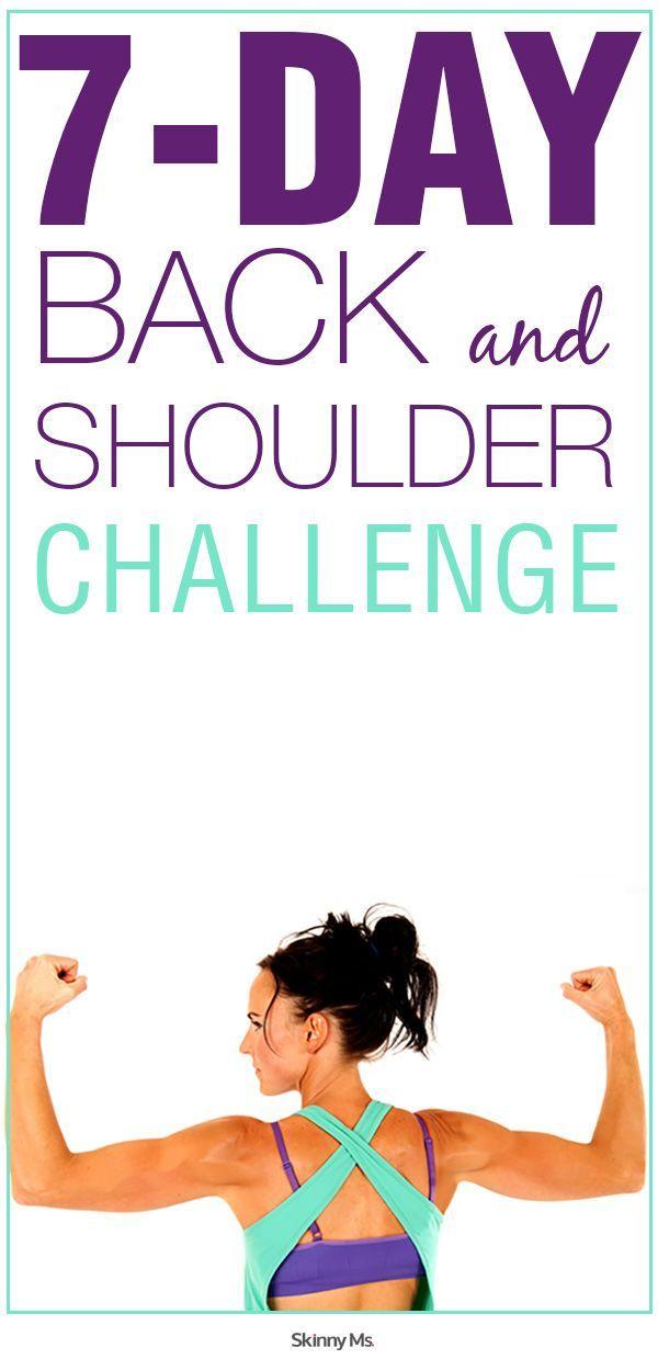 7 Day Back & Shoulder Challenge