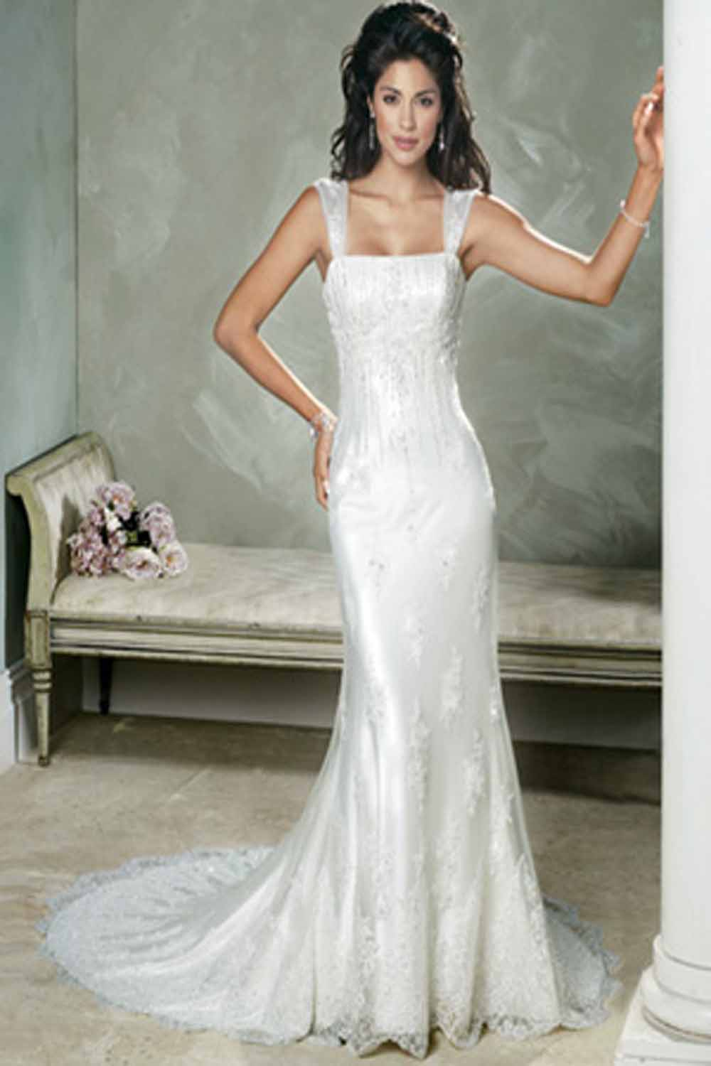 39 sheath wedding style dresses 39 make a flairy appearance for Dress of wedding style