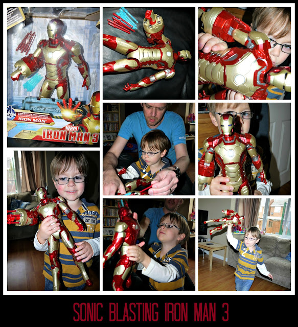 Iron man, toy , review