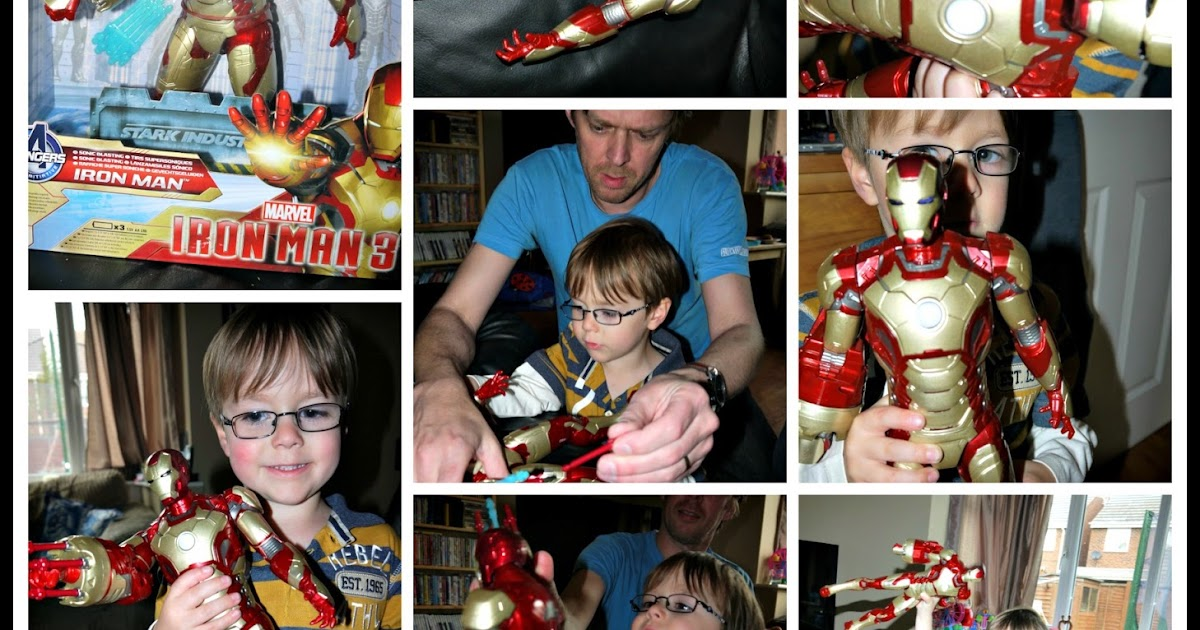 Inside The Wendy House Sonic Blasting Iron Man 3 Toy Review
