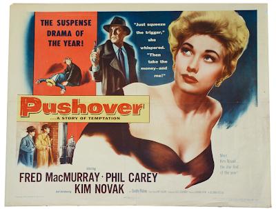 Poster, caratula, cover, dvd, cartel, La casa Nº 322 | 1954 | Pushover