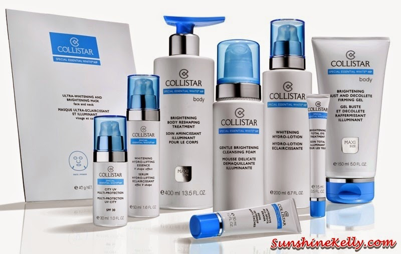 Collistar Special Essential White HP Range, Collistar Whitening Hydro-Lifting Essence V Shape Effect, Collistar whitening, Collistar, Sa Sa, whitening skincare, asian skin, special whitening, Collistar Brightening Body Reshaping Treatment, Collistar Brightening Bust and Decollete Firming Gel