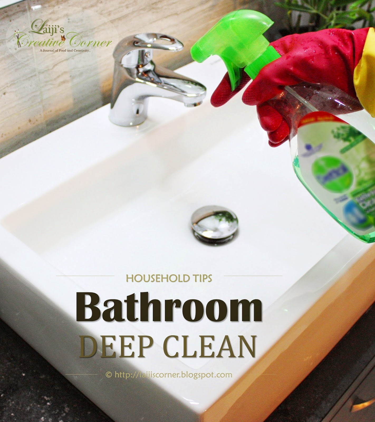 Bathroom Deep Clean