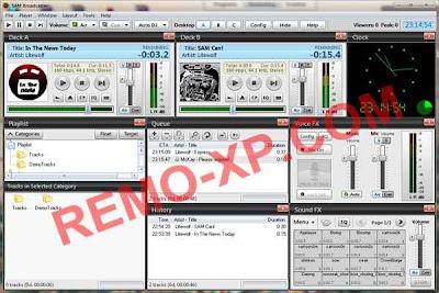 SAM Broadcaster 4.9.2