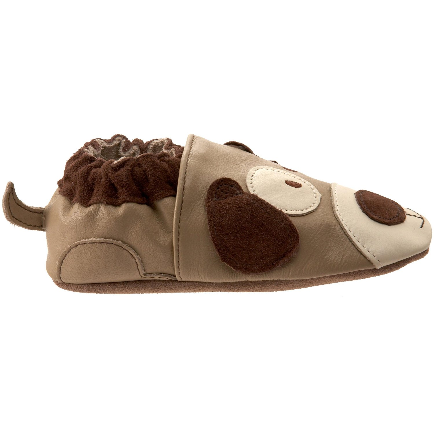have outgrew purchased is loved this crib robeez second cheap son puppy which soft shoe prince my pair style the of as shoes was with i first buy frog soles cribs