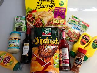April Box Überraschung Lebensmittel
