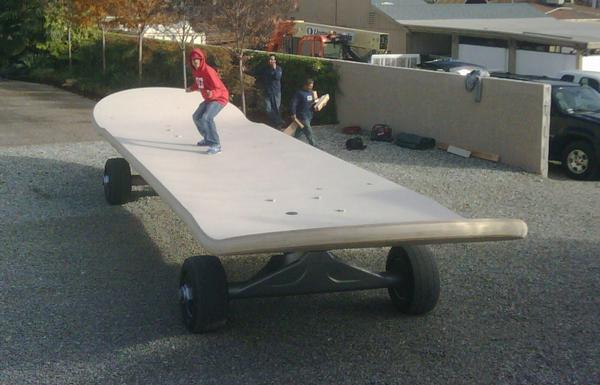 World's Largest Skateboard