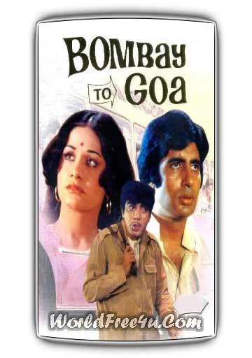 Poster Of Bollywood Movie Bombay to Goa (1972) 300MB Compressed Small Size Pc Movie Free Download worldfree4u.com