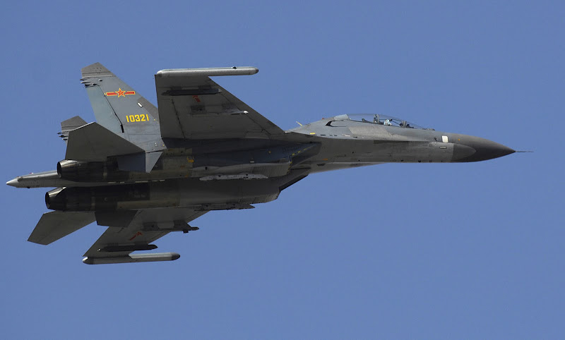 Jianjiji-11 China Airforce Fighter Jet
