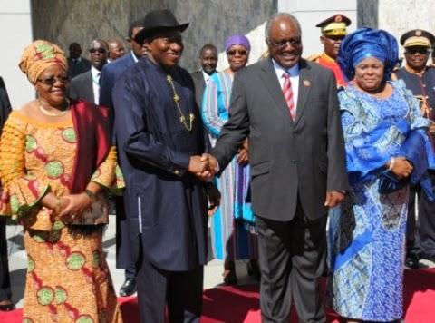 president jonathan namibia
