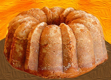 Two Ingredient Pumpkin Bundt Cake
