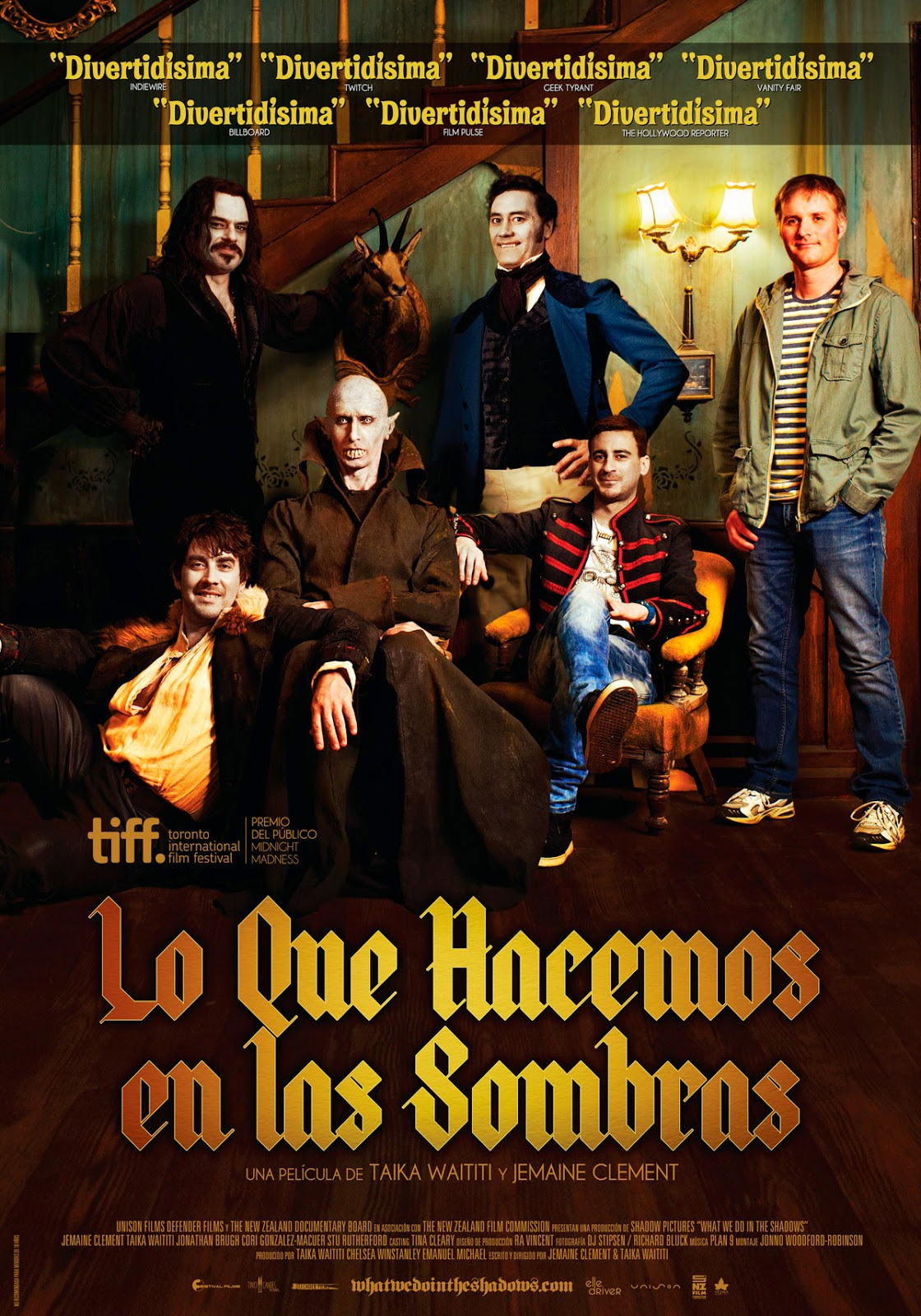Lo que hacemos en las sombras (What We Do in the Shadows)