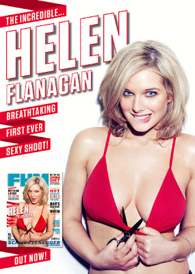 Helen Flanagan hot cover in FHM magazine