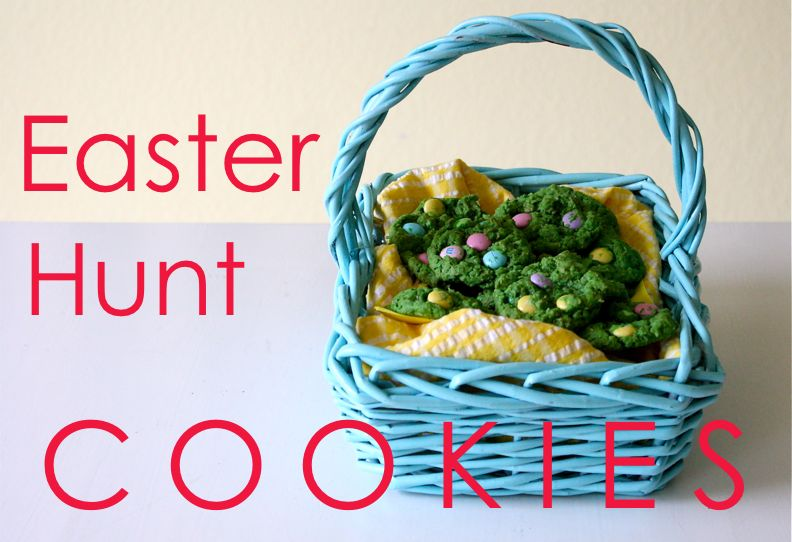 Easter hunt cookies made everyday if you need a fun easter snack come over and grab a few from my basket of course the really good ones are sitting in my freezer negle Gallery