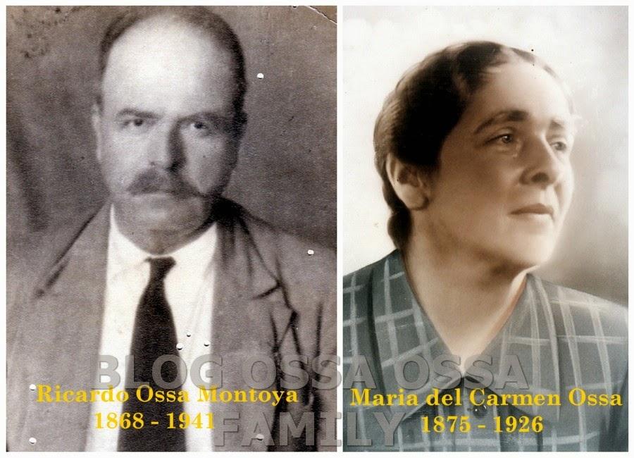 Genograma Ossa Ossa. Archivos de Nueva Caramanta desde 1843 – 1910 Foto 1