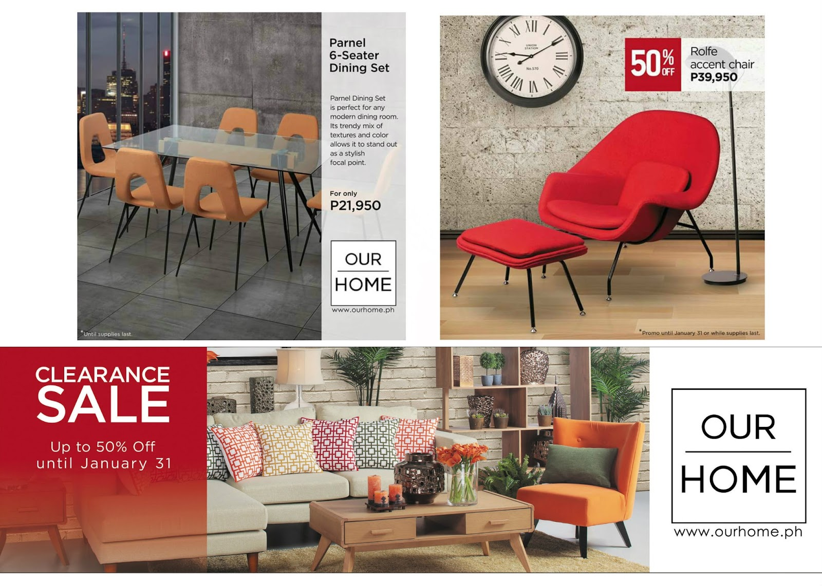 Our Home Clearance Sale At Sm City Marilao The Products Blog