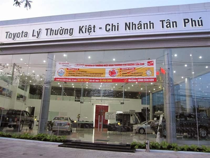 Toyota Lý Thường Kiệt chi nhánh Tân Phú Hồ Chí Minh