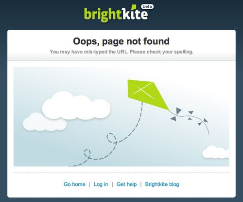 Best 404 Error Page Examples